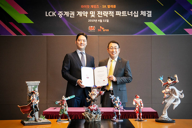 SK Telecom Continues to Transform Esports Content Business with 5G