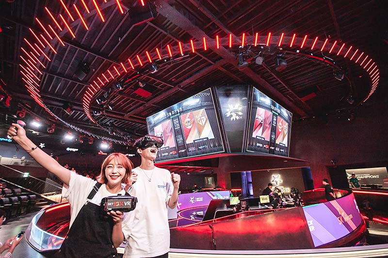 SK Telecom Launches 5G AR and VR Services for eSports