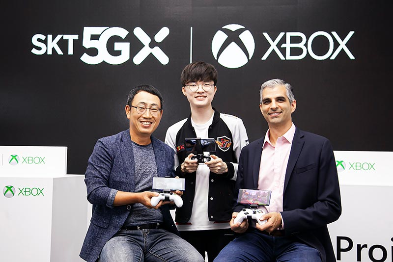 SK Telecom and Microsoft Announce Plans for Joint 5G-based Cloud Gaming