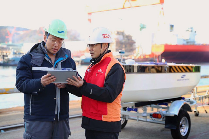 SK Telecom and Samsung Heavy Industries Successfully Verified 5G-Powered Autonomous and Remote Control Navigation Test Platform Using a Test Ship