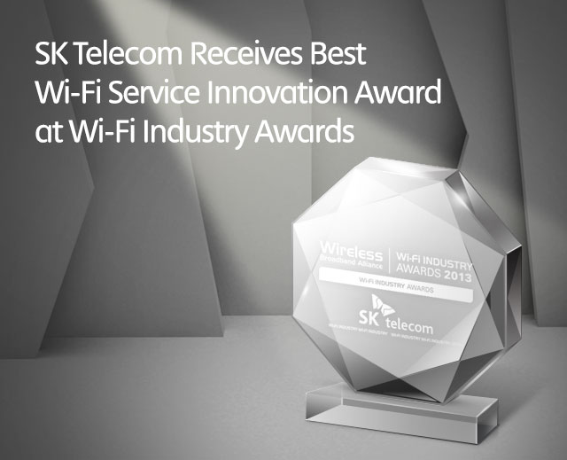 SK Telecom Receives Best Wi-Fi Service Innovation Award at Wi-Fi Industry Awards