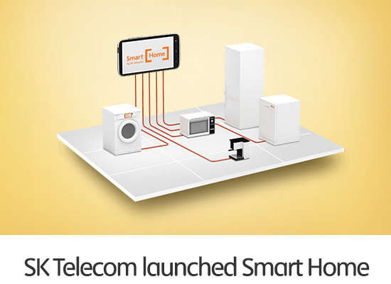 SK Telecom Unveils Smart Home to Realize Perfect Home Environment