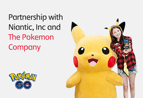 Joint marketing agreement with Niantic, Inc. and The Pokémon Company.