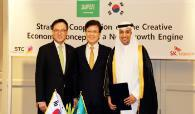SK Telecom – Saudi Telecom Company Sign MOU for Strategic Cooperation on the Creative Economy Concept as a New Growth Engine