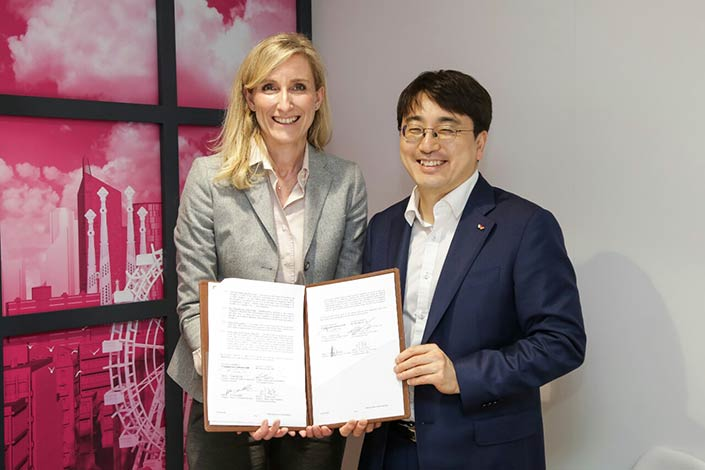 SK Telecom and Deutsche Telekom agreed to establish